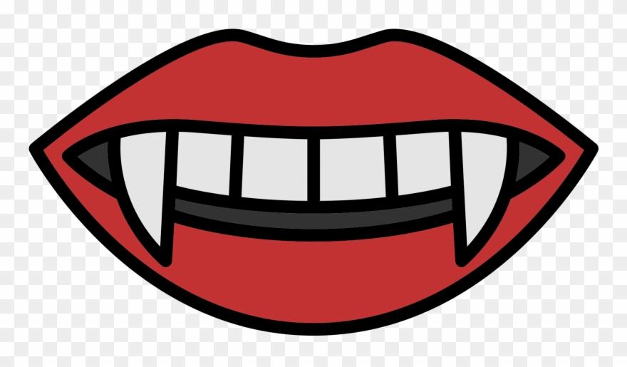 Vampiro clipart free download Fang Drawing Mouth - Boca De Vampiro Png Clipart (#582896 ... free download