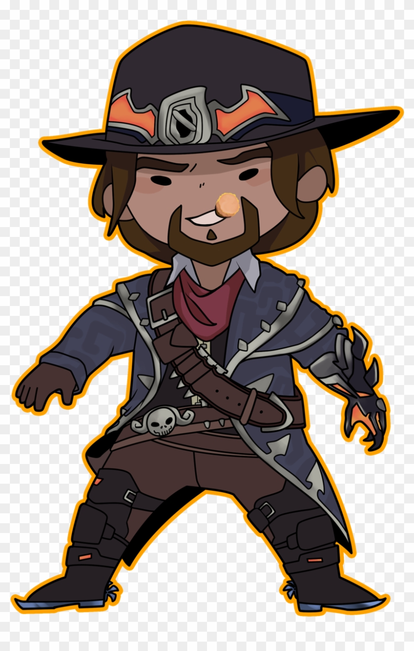Van helsing clipart image download Finished Up My Boi Mccree Now Available In My Etsy - Van ... image download