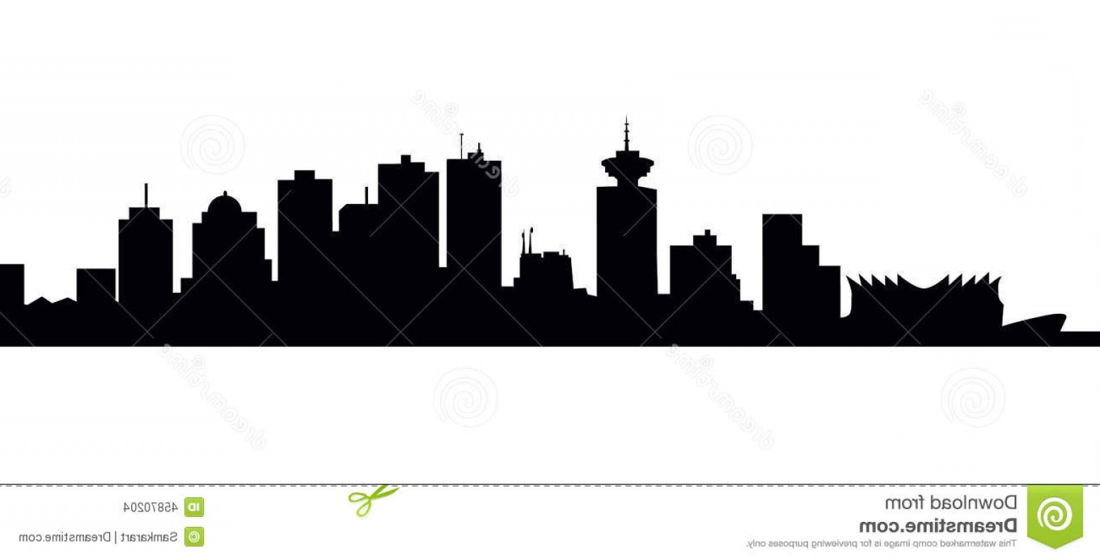 Vancouver state skyline clipart graphic black and white download Skyline Vector | SOIDERGI graphic black and white download
