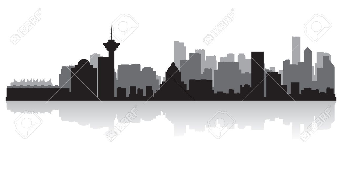 Vancouver state skyline clipart svg library library Vancouver skyline - outline to doodle | Hair and things. in ... svg library library