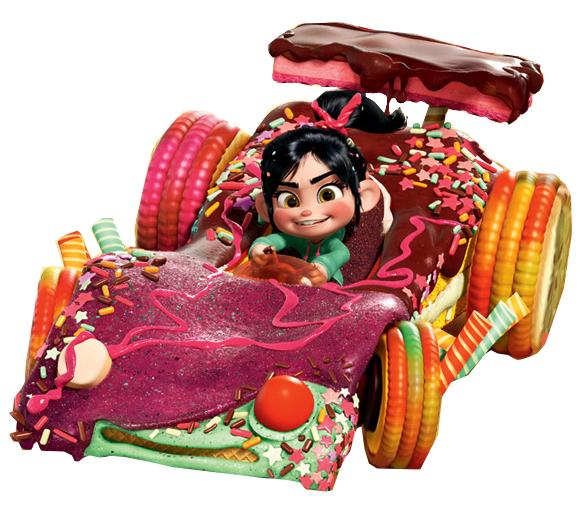Vanellope von schweetz car clipart clip art library library Candy Kart | Wreck it Ralph Bday | Wreck it ralph, Disney ... clip art library library