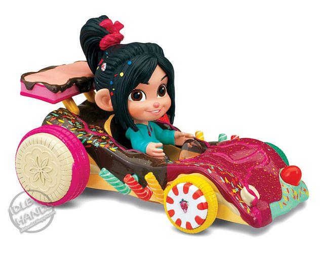 Vanellope von schweetz car clipart image free download Disney Wreck-it ralph sugar rush racer and cart - Vanellope ... image free download