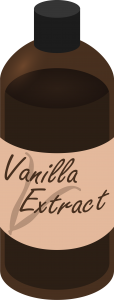 Vanilla bottle clipart graphic library download Vanilla extract clipart » Clipart Station graphic library download