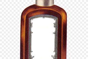 Vanilla bottle clipart jpg stock Vanilla extract oil bottle isolated vector icon » Clipart ... jpg stock