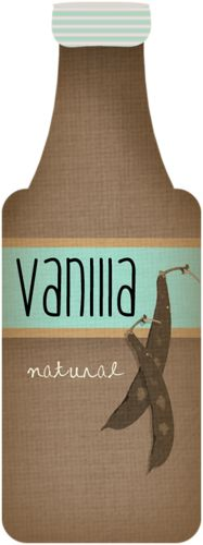 Vanilla bottle clipart clipart freeuse Vanilla Extract Clipart (96+ images in Collection) Page 2 clipart freeuse