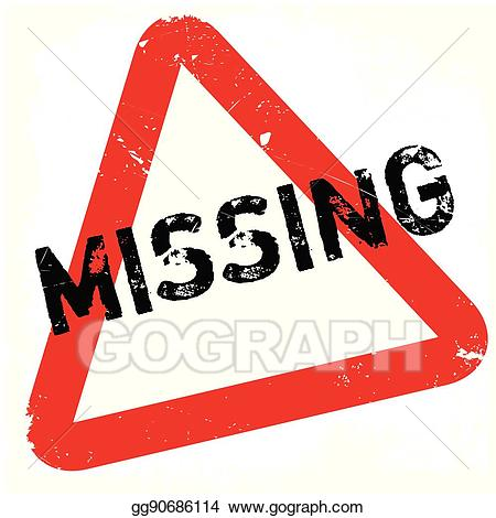 Vanished clipart free stock EPS Vector - Missing rubber stamp. Stock Clipart ... free stock