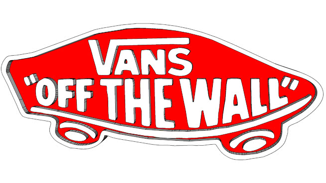 Vans off the wall logo clipart jpg library VANS \'OFF THE WALL\' LOGO | 3D Warehouse jpg library