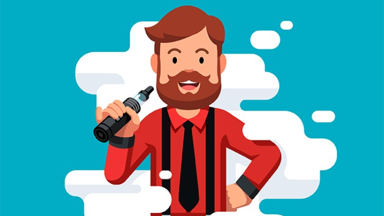 Vape and drinking clipart vector library stock Could vaping in pubs be good for business? vector library stock