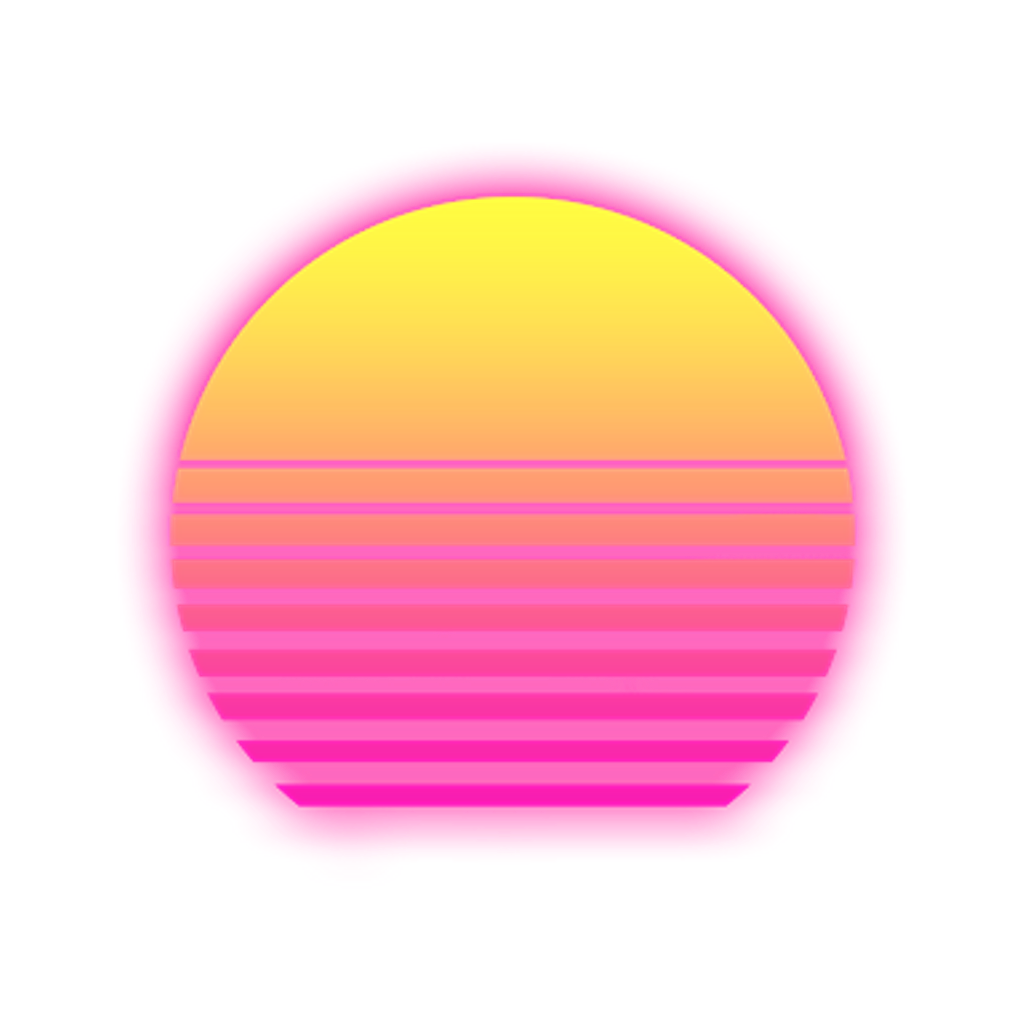 Vaporwave sun clipart clipart freeuse library aesthetic vaporwave sun freetoedit... clipart freeuse library
