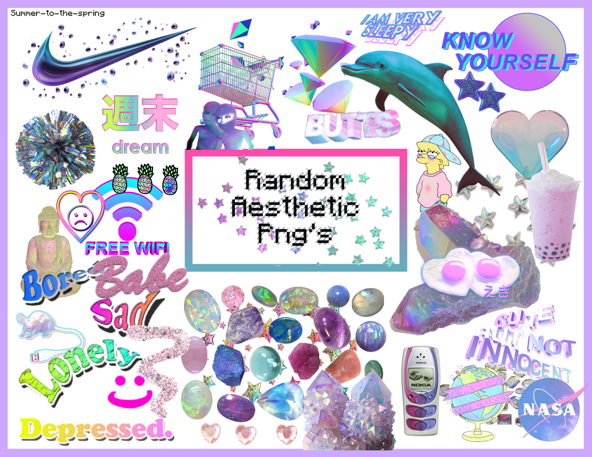 Vaporwave sun clipart graphic library download 21+ Free Aesthetic PNG packs | Hipsthetic graphic library download
