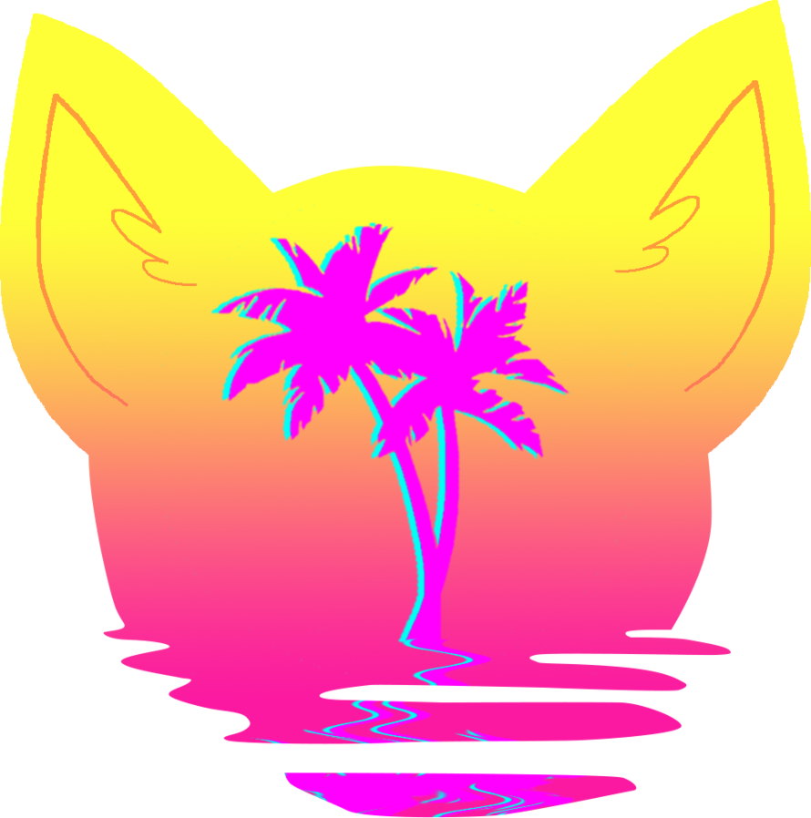 Vaporwave sun clipart graphic royalty free library Vaporwave Cat by Salicos on DeviantArt graphic royalty free library