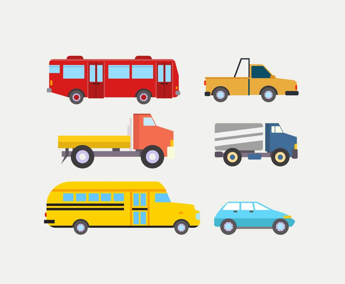 Various clipart graphic library stock Various Vehicles Clipart Vector Vector Art & Graphics ... graphic library stock