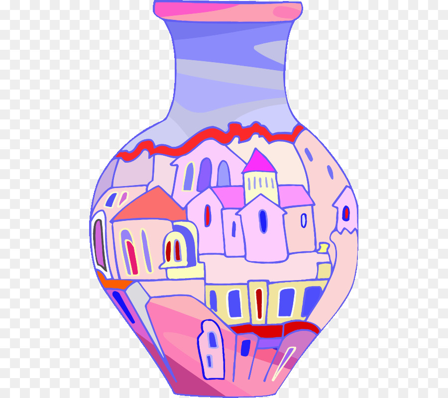Vase pictures clipart graphic library stock Vase clipart Vase Clip art clipart - Drawing, Purple, Line ... graphic library stock