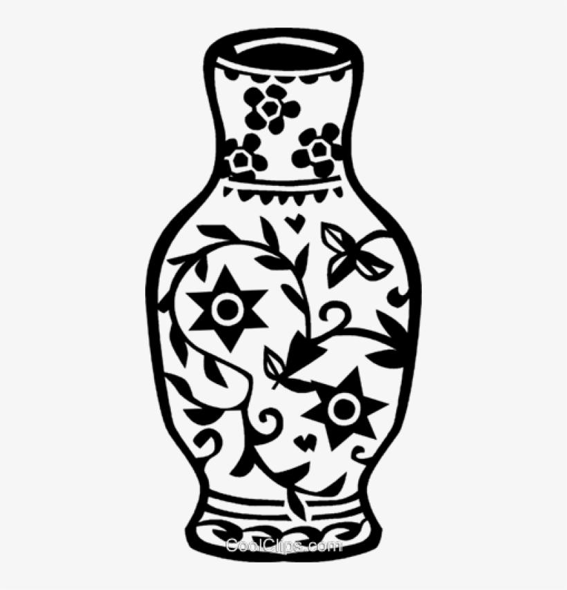 Vases black clipart image free Ming Vase Royalty Free Vector - Vase Images Clipart Black ... image free