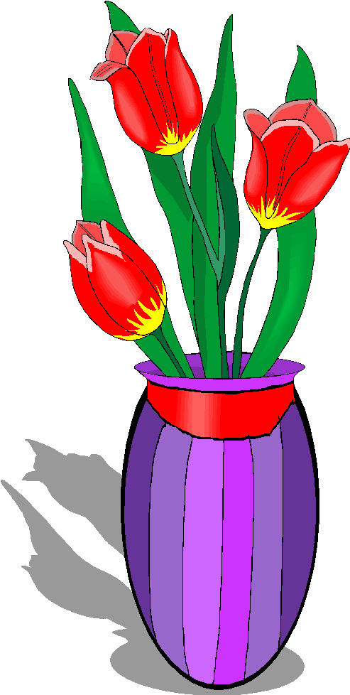 Vases with flowers clipart image free library Free Flower Vases With Flowers Clipart, Download Free Clip ... image free library