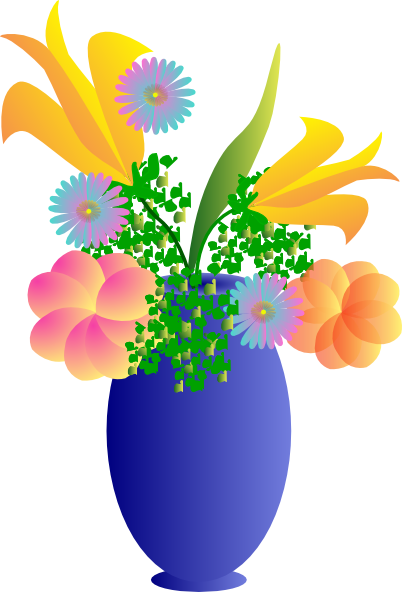 Vases with flowers clipart clip art stock Vase Of Flowers Clip Art Vector Clip Art Online Royalty Free ... clip art stock