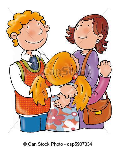 Vater und mutter clipart clipart royalty free download Zeichnung von Umarmung, Vater, Mutter, kind csp5907334 - Suchen ... clipart royalty free download