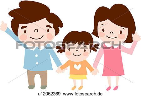 Vater und mutter clipart jpg transparent stock Clip Art - baby, mutter, mädchen, töchterchen, kind, vater ... jpg transparent stock