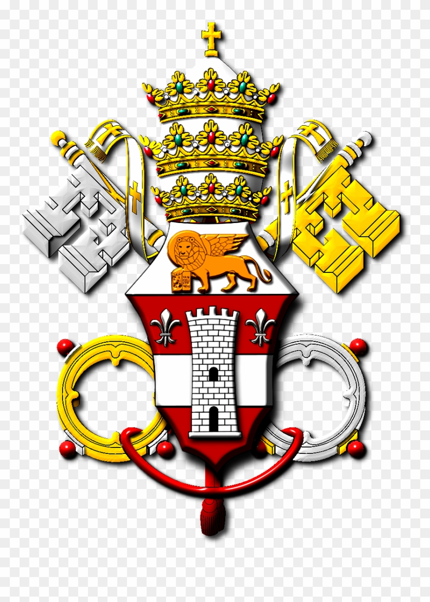 Vatican logo clipart vector transparent download Pope John Xxiii Coat Of Arms - Vatican City Clipart ... vector transparent download