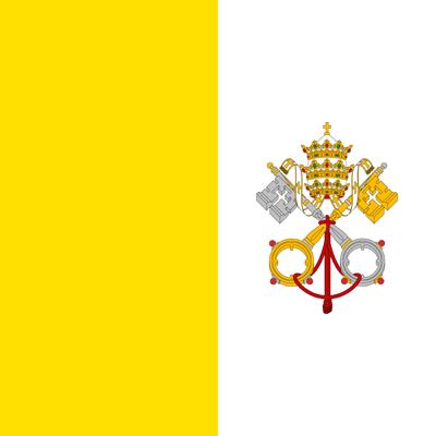 Vatican logo clipart banner library stock Vatican City flag clipart - country flags banner library stock