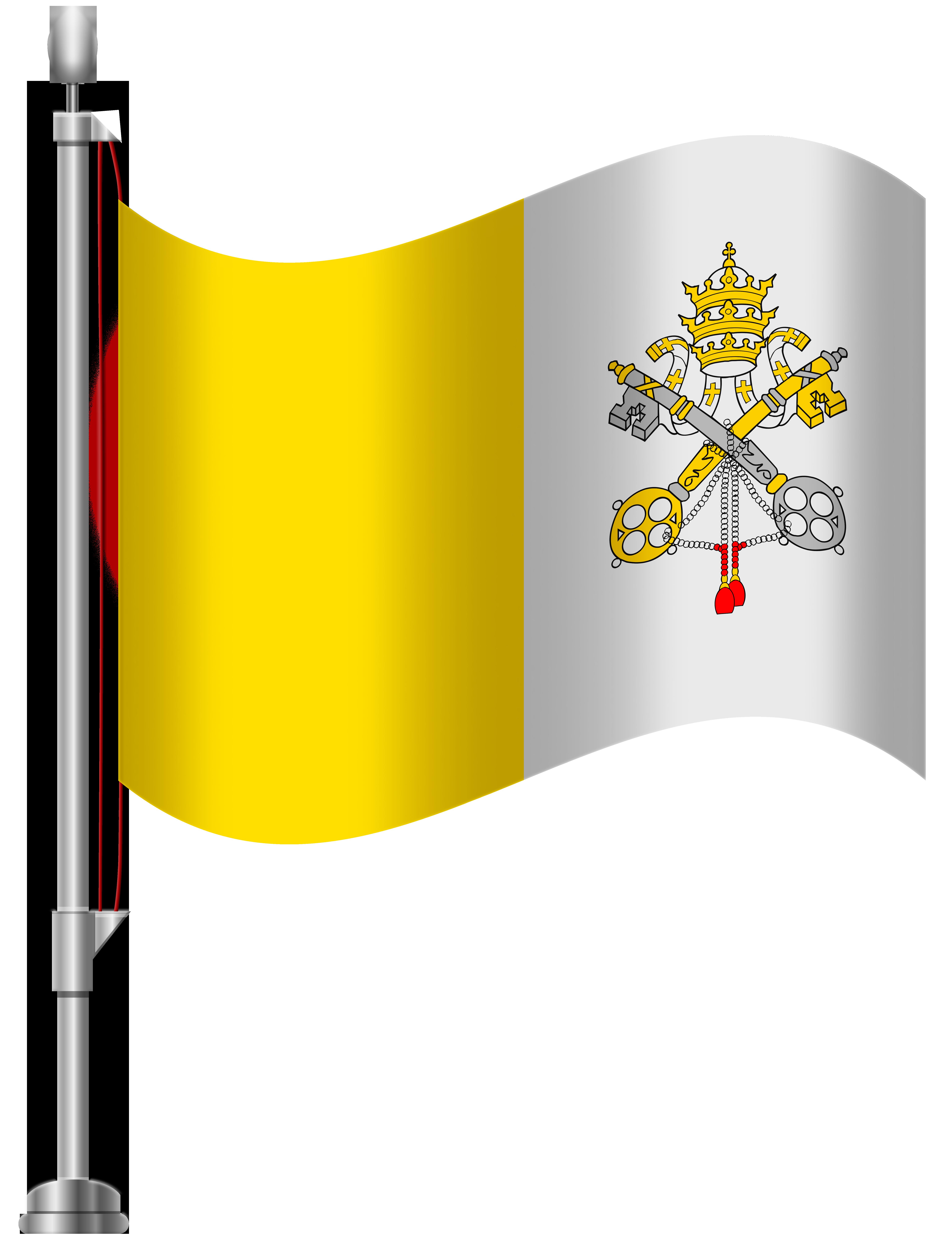 Vatican logo clipart clip royalty free download Vatican City Flag PNG Clip Art - Best WEB Clipart clip royalty free download
