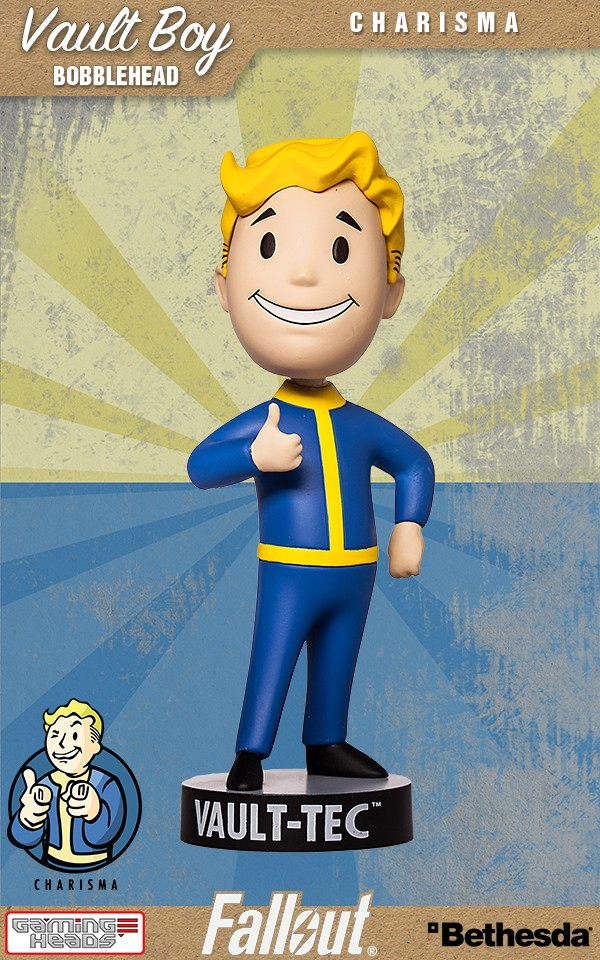 Vault 111 clipart png free library Fallout® 4: Vault Boy 111 Bobbleheads - Series Two: Charisma png free library