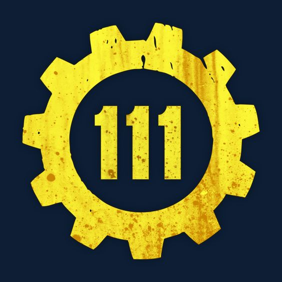 Vault 111 clipart picture library stock Vault 111 | Fallout and Gaming picture library stock