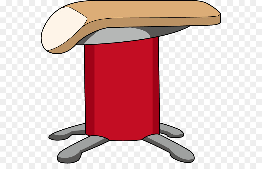 Vault and springboard clipart picture transparent stock Hat Cartoon clipart - Gymnastics, Table, Furniture ... picture transparent stock