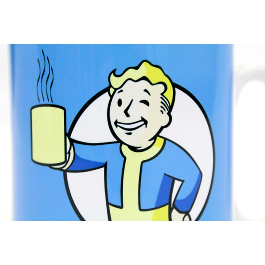 Vault boy clipart picture library stock Fallout Vault Boy Official Mug – Yellowbulldog.co.uk picture library stock