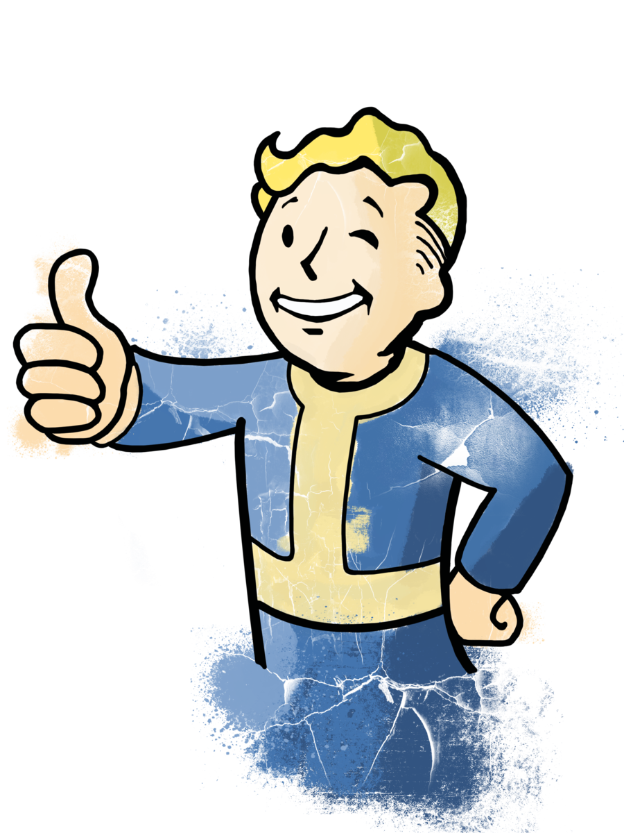 Vault boy clipart health jpg royalty free download Vault boy vector by krissipo on DeviantArt jpg royalty free download