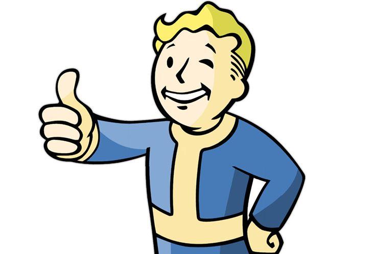 Vault boy girl clipart jpg freeuse download Fallout Vault Boy History - Official Mascot of Vault-Tec jpg freeuse download