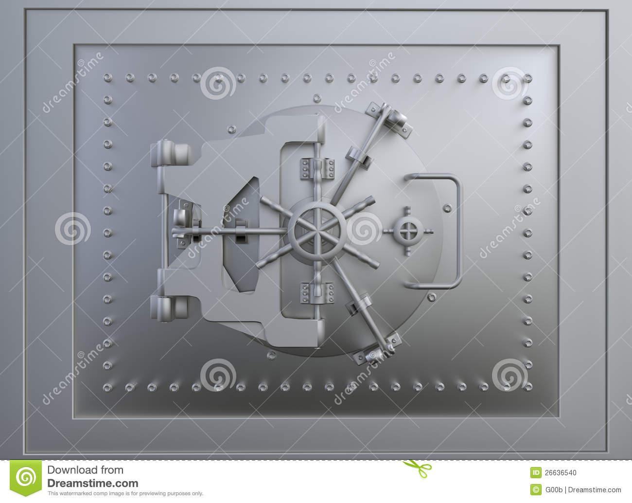 Vault door clipart clipart transparent Front View Of A Vault Door Stock Photo - Image: 26636540 clipart transparent