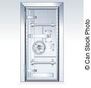 Vault door clipart banner royalty free download Bank vault Clip Art and Stock Illustrations. 4,919 Bank vault EPS ... banner royalty free download