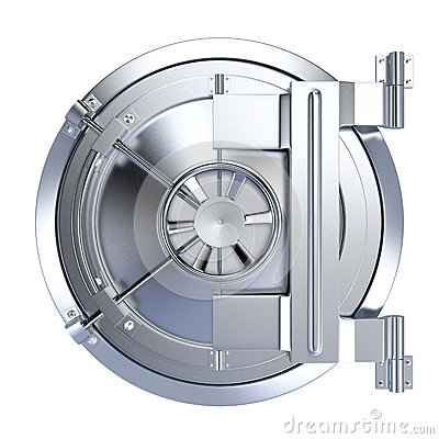 Vault door clipart clip art freeuse stock Closeup Of Bank Vault Door Stock Illustration - Image: 67760992 clip art freeuse stock