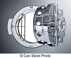 Vault door clipart png free download Clipart of Open Bank Vault Door. 3D render csp19276516 - Search ... png free download