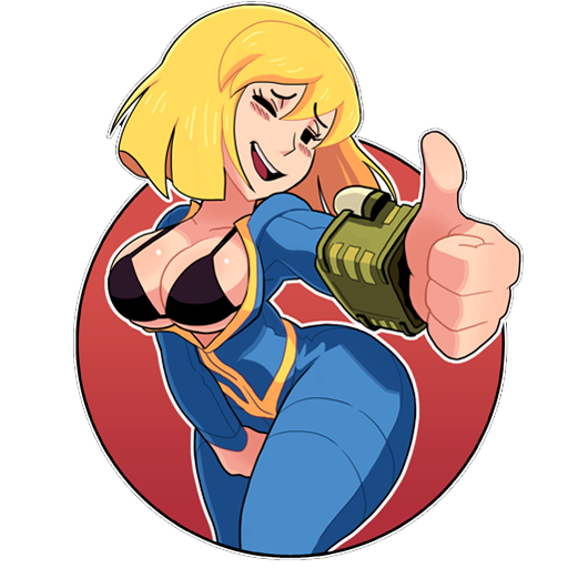 Vault girl clipart image free download Vault Girl (GameBanana > Sprays > Game Characters & Related ... image free download