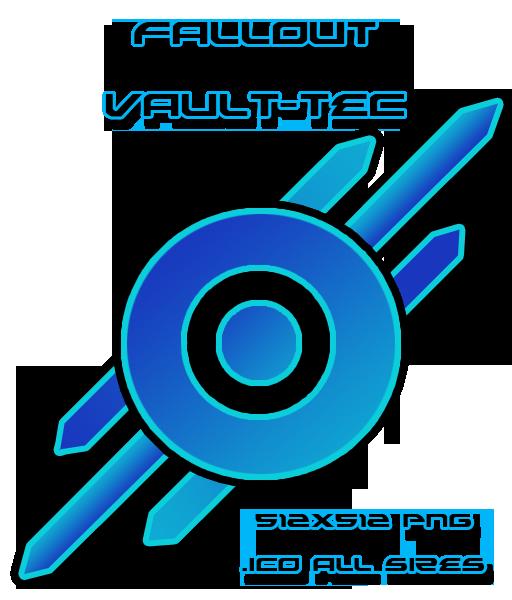 Vault tec clipart vector free library Fallout 3 - Vault-Tec by ChewySolo on DeviantArt vector free library