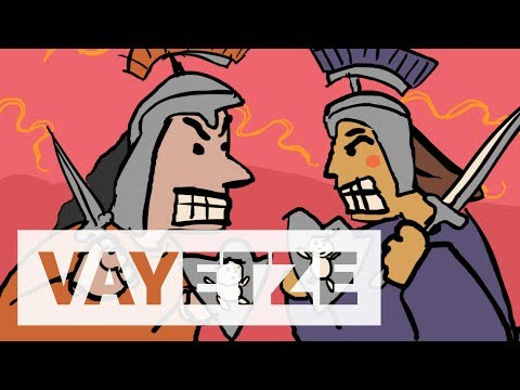 Vayetze clipart banner black and white library Parshat Vayetze - YouTube banner black and white library