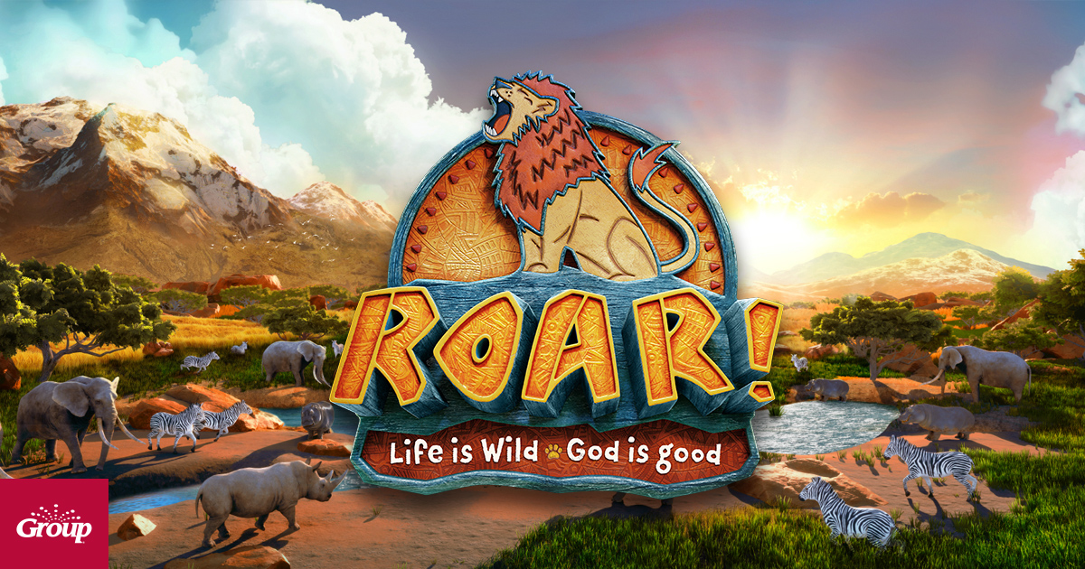 Vbs 2019 roar clipart svg royalty free Roar Easy VBS 2019 | Vacation Bible School - Group svg royalty free