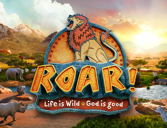 Vbs 2019 roar clipart graphic library Roar Easy VBS 2019 | Vacation Bible School - Group graphic library