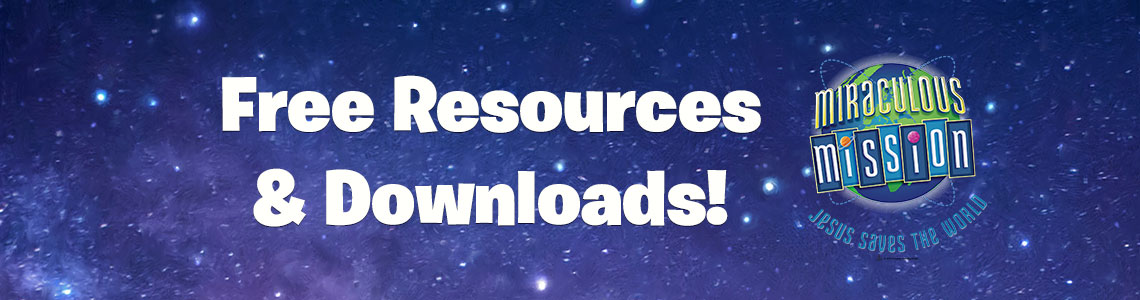 Vbs miraculous mission clipart graphic library stock Miraculous Mission VBS 2019 | Free Resources | Concordia Supply graphic library stock