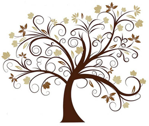 Vector african family tree clipart png download Clipart Tree Std image - vector clip art online, royalty ... png download