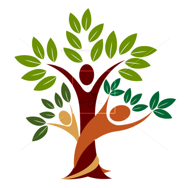 Vector african family tree clipart graphic library Family tree | Free vectors, illustrations, graphics, clipart, PNG ... graphic library