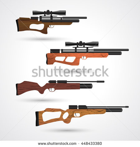 Vector air rifle clipart logo svg royalty free download Pcp Stock Photos, Royalty-Free Images & Vectors - Shutterstock svg royalty free download