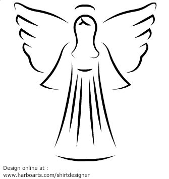 Vector angel clipart picture free Pin by Brenda Perry on ANGEL ART | Angel drawing, Angel ... picture free