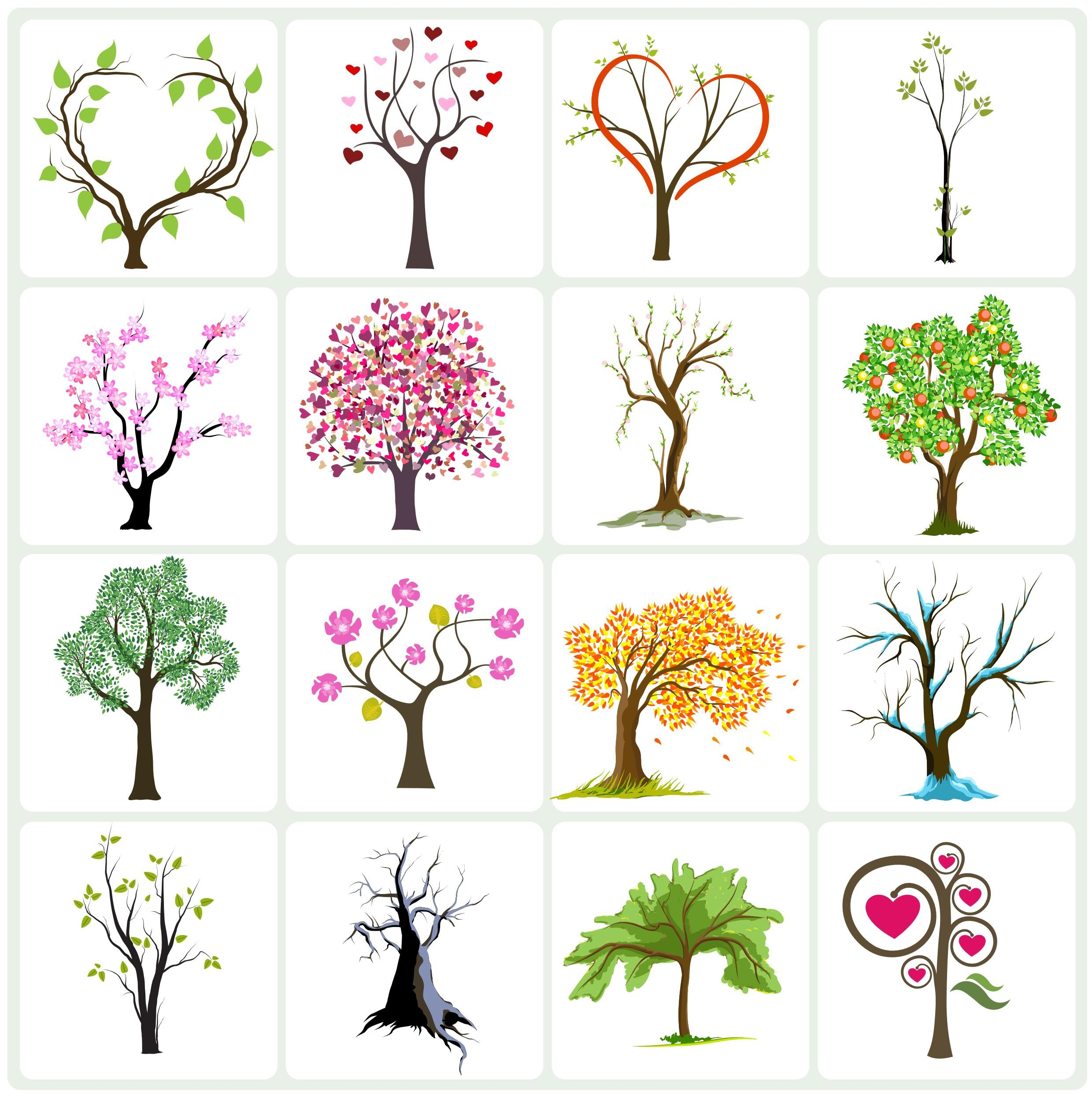 Vector art collection download banner black and white Vector Tree Collection Vector EPS Free Download, Logo, Icons ... banner black and white