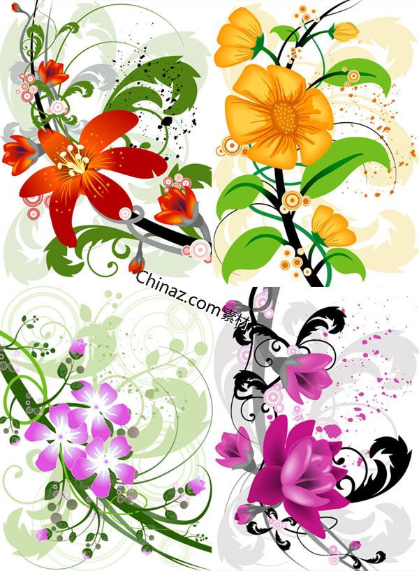 Vector art flowers free download jpg freeuse library Vector Flowers Free   Free Download Clip Art   Free Clip Art   on ... jpg freeuse library