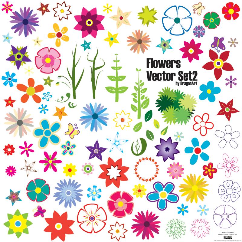 Vector art flowers free download jpg transparent library Vector Flower   Free Download Clip Art   Free Clip Art   on ... jpg transparent library