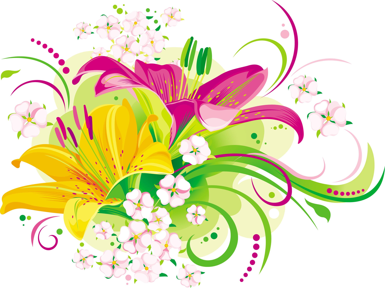 Vector art flowers free download banner transparent download Vector Flowers   Free Download Clip Art   Free Clip Art   on ... banner transparent download