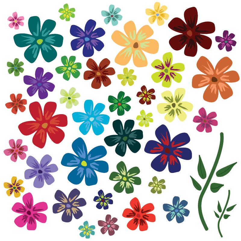 Vector art flowers free download svg transparent Vector Flower   Free Download Clip Art   Free Clip Art   on ... svg transparent